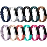 Fitbit Alta HR Bands-Fitbit Alta-Bands-Pack of 12 Colors,RedTaro Adjustable Replacement Accessory Bands/Straps/Bracelets for Fitbit Alta HR/Fitbit Alta for Women/Men(no Fitbit Fitness Trackers)