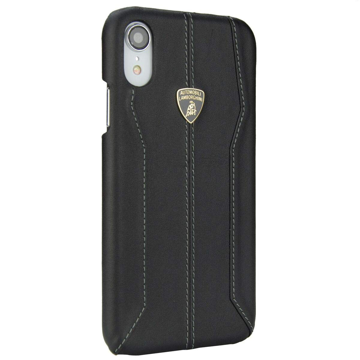 huge selection of 289b1 c3da8 Amazon.com: Lamborghini Huracan-D1 Leather Back Cover Case for ...
