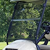 club car body parts - Club Car Precedent Tinted Fold Down Impact Resistant Windshield for CC Precedent Golf Cart