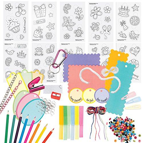 Creativity for Kids Shrink Fun Deluxe – Shrink Plastic Deluxe Activity Kit