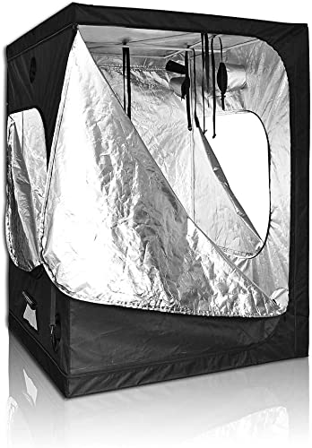Grow Tent 60 x60 x80 Hydroponics Indoor Plants Growing Reflective Mylar Dark Room Hut