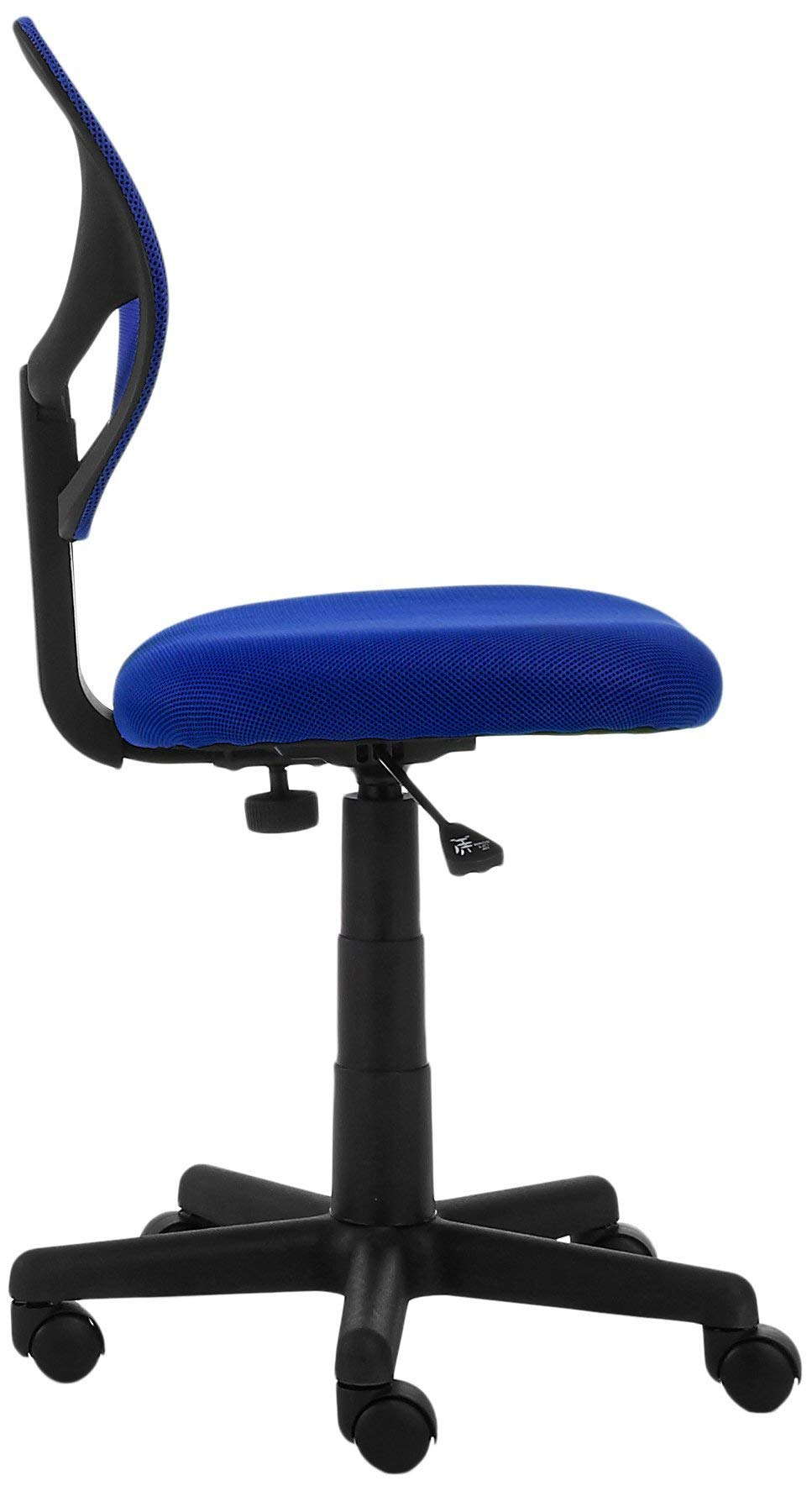 AmazonBasics Low-Back Computer Task Office Desk Chair with Swivel Casters - Blue by AmazonBasics (Image #5)
