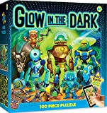 MasterPieces  Glow in the Dark Robots  - 100 Piece Kids Puzzle