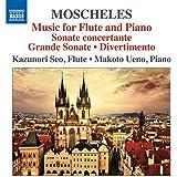 モシェレス:フルートとピアノのための作品集