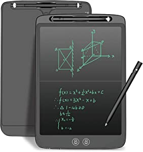 LCD Writing Tablet 12 Inch with Newest High-Tech Split Screen Writing and Delete Function Drawing Tablet, Reusable Drawing Pad Birthday Gifts for Kids and Adults at Home School Office