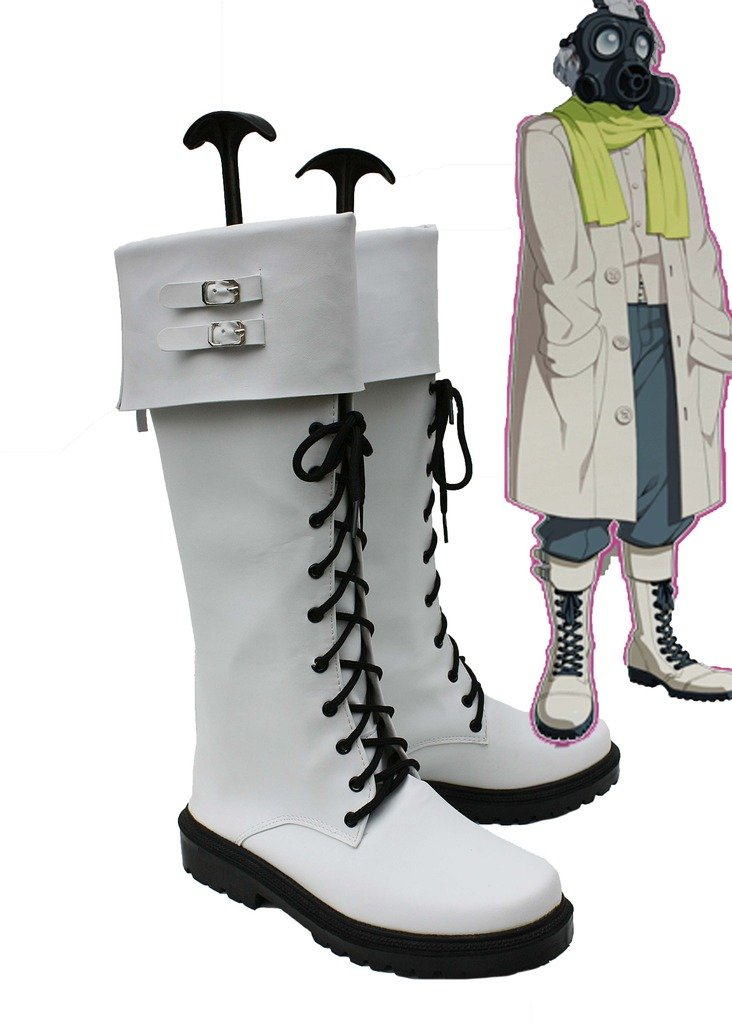 Dramatical Murder DMMD Clear Cosplay Shoes Boots Custom Made 6.5 D(M) US Male