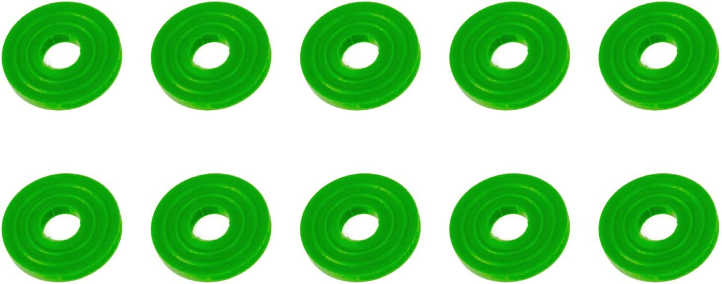 For sealing CO2 connection to tank Nylon CO2 Washers CGA-320 Washers 10 Pack