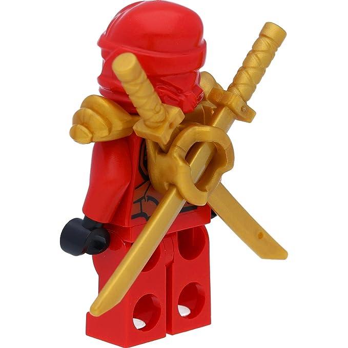 Ninjago Lego Mini Figura Kai (roja Ninja Espada) con Soporte ...