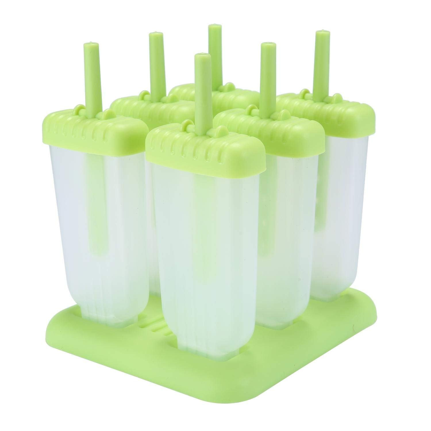 DIY Ice Cream Popsicle Mould Silicone Tray Lolly Mould Frozen Ice Cream Molds