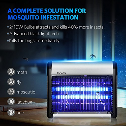 Bug Zapper Fly Trap Mosquito Killer Insect Killer Home Night Lamp