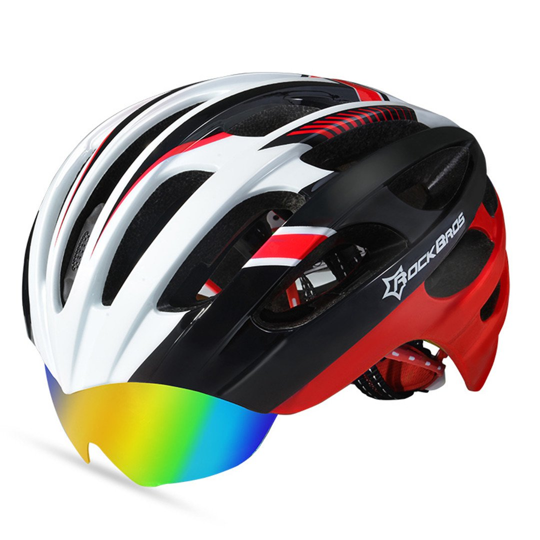 Style3 WT 049 9 Cycling Helmet 3 Lens Ultralight MTB Bicycle Bike Motorbike Men Women Integrally-Molded Eps Accessories