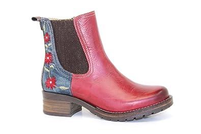 054e2232393a84 Dromedaris Women s Kourtney Denim Boot