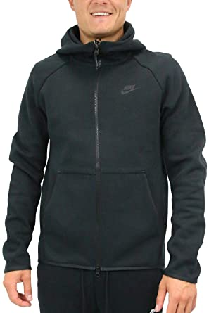 b0e04fbcdb0e Amazon.com  Nike Mens Tech Fleece Full Zip Hoodie Sweatshirt  Clothing