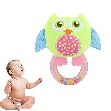 Adorable sonajero de peluche para bebé recién nacido, juguete para ...