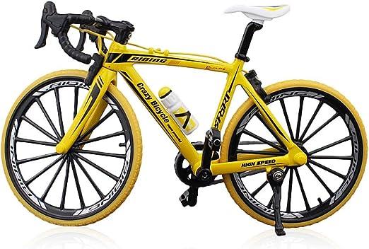 Hamkaw Bicicleta de Dedo Juguetes, Miniatura Bicicleta, Mini ...