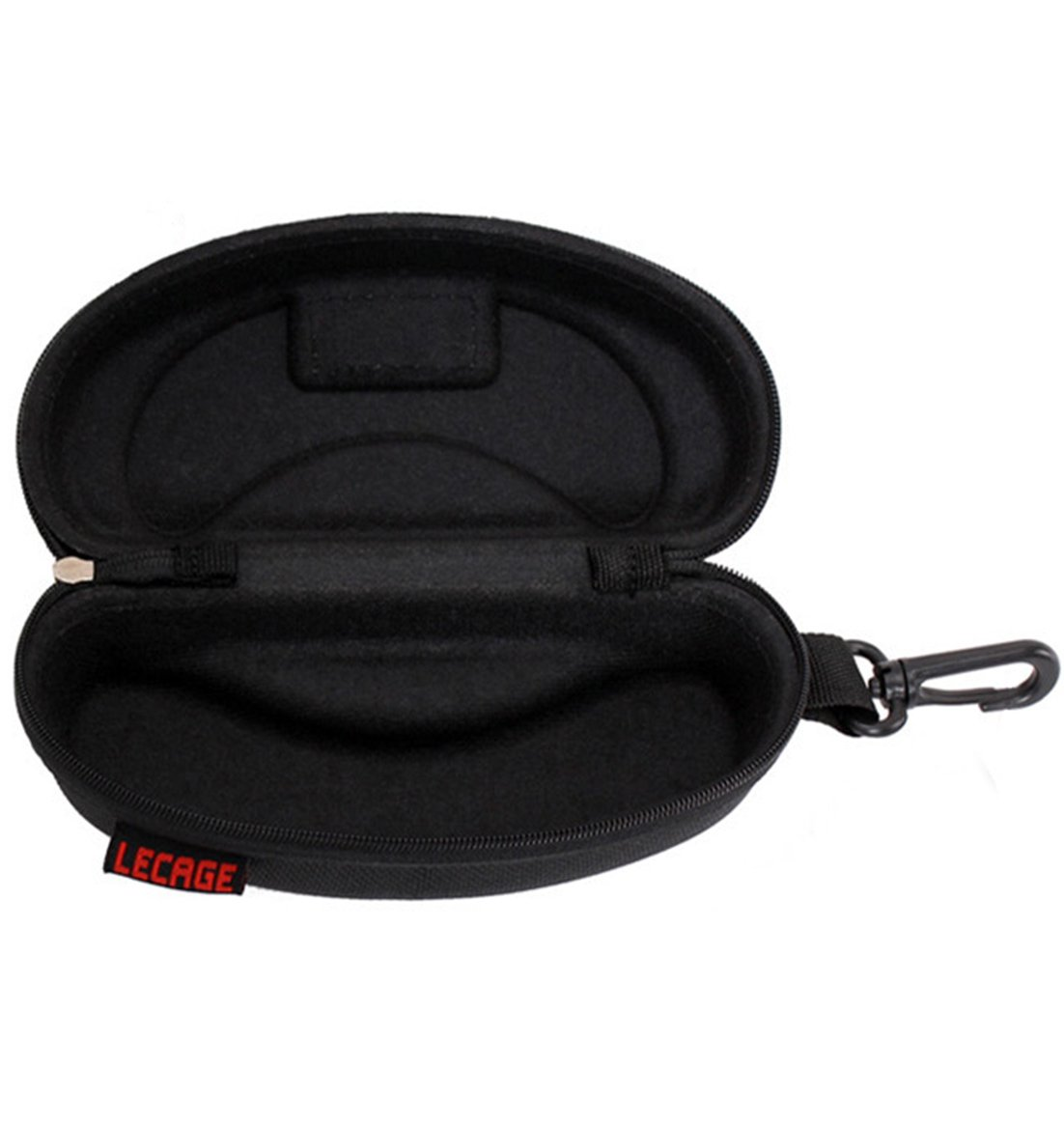 Brave Tour Protective Hard Carrying Case for Sunglasses Eyeglasses (Black-1) by Brave Tour