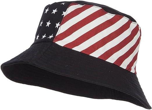 USA Flag Fashion Bucket Hat Unisex 100/% Cotton
