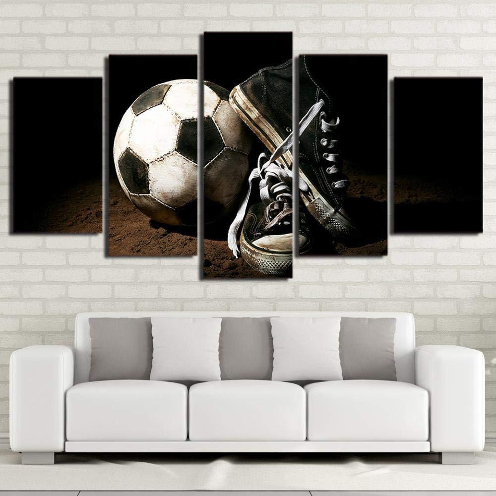 Hongge Tinta Cuadro,lienzos De inyección de Tinta Hongge de la Pintura Pintura Decorativa Cinco-Liga fútbol 529d42