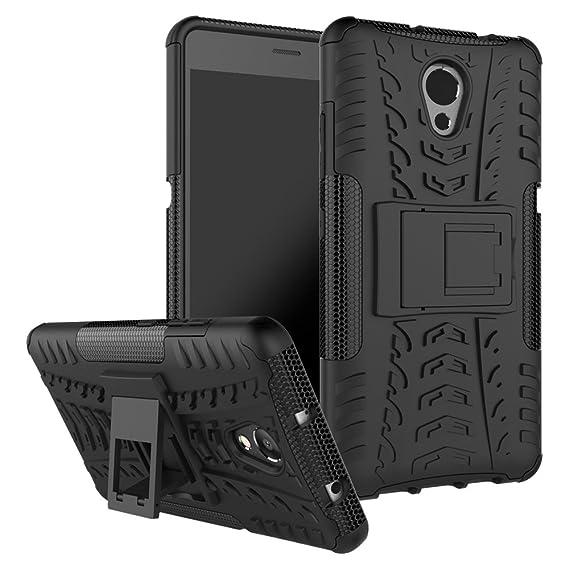 brand new 4e5dd 1cda6 Lenovo P2 Shockproof Case, Lenovo P2 Hybrid Case, Dual Layer Shockproof  Hybrid Rugged Case Hard Shell Cover with Kickstand for 5.5'' Lenovo P2  (Black)