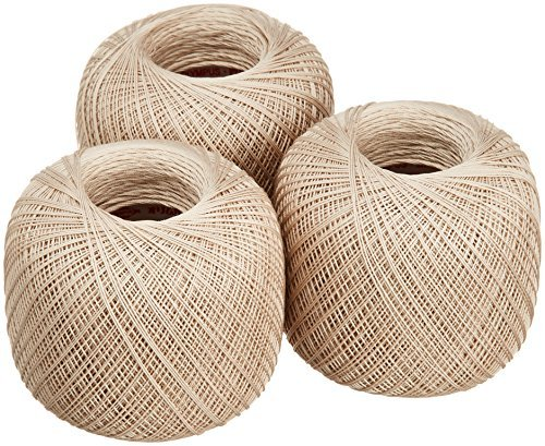 Lace thread GOLD SPECIAL 40 (monochrome) 50 g ballads 3 balls 741 by Olempus made cord