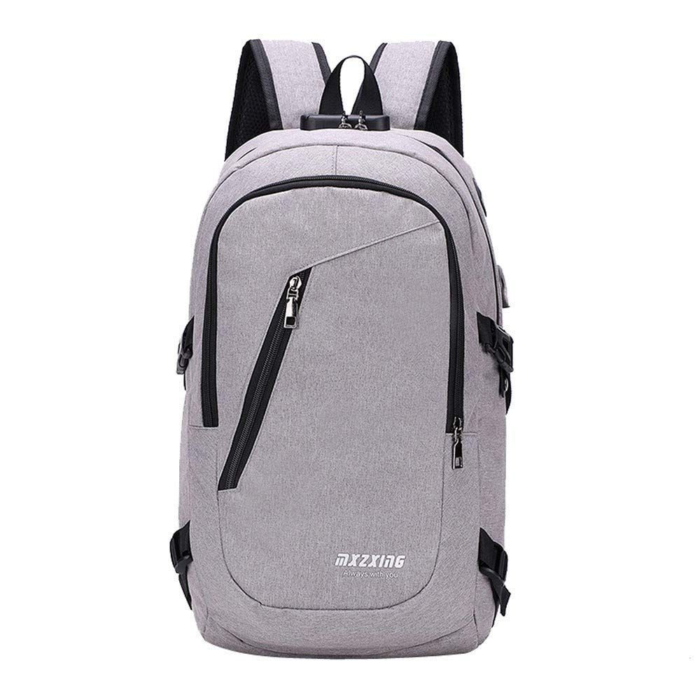 JiaMeng Unisex USB Mochila Messenger Bag Moda Casual Bolsa de ...