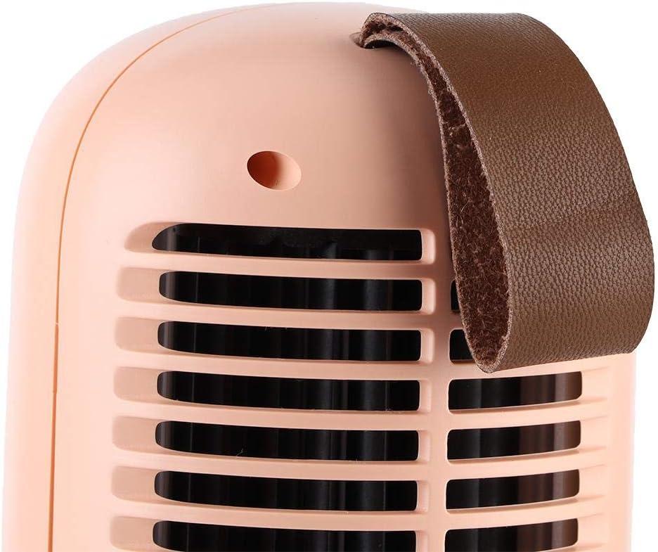 1994 Ventilatore da Pavimento Ventilatore per umidificazione, Ventilatore, Ventilatore da Tavolo, Ventilatore Portatile Elegante Mini per Camera da Letto per Ufficio(Green) Pink