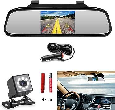 Auto Voiture Caméra de recul 170 ° degré Grand Angle PAL Mini Caméra de Recul Installation