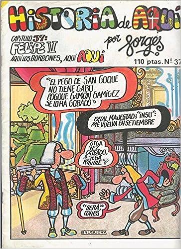 Historia de Aqui numero 37: Amazon.es: Forges: Libros