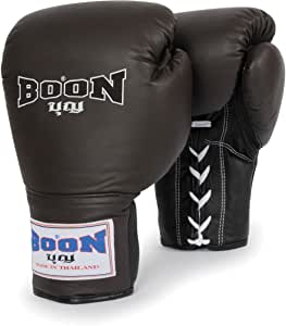 Boon Sport Leather Training Gloves, BN/BK, 12