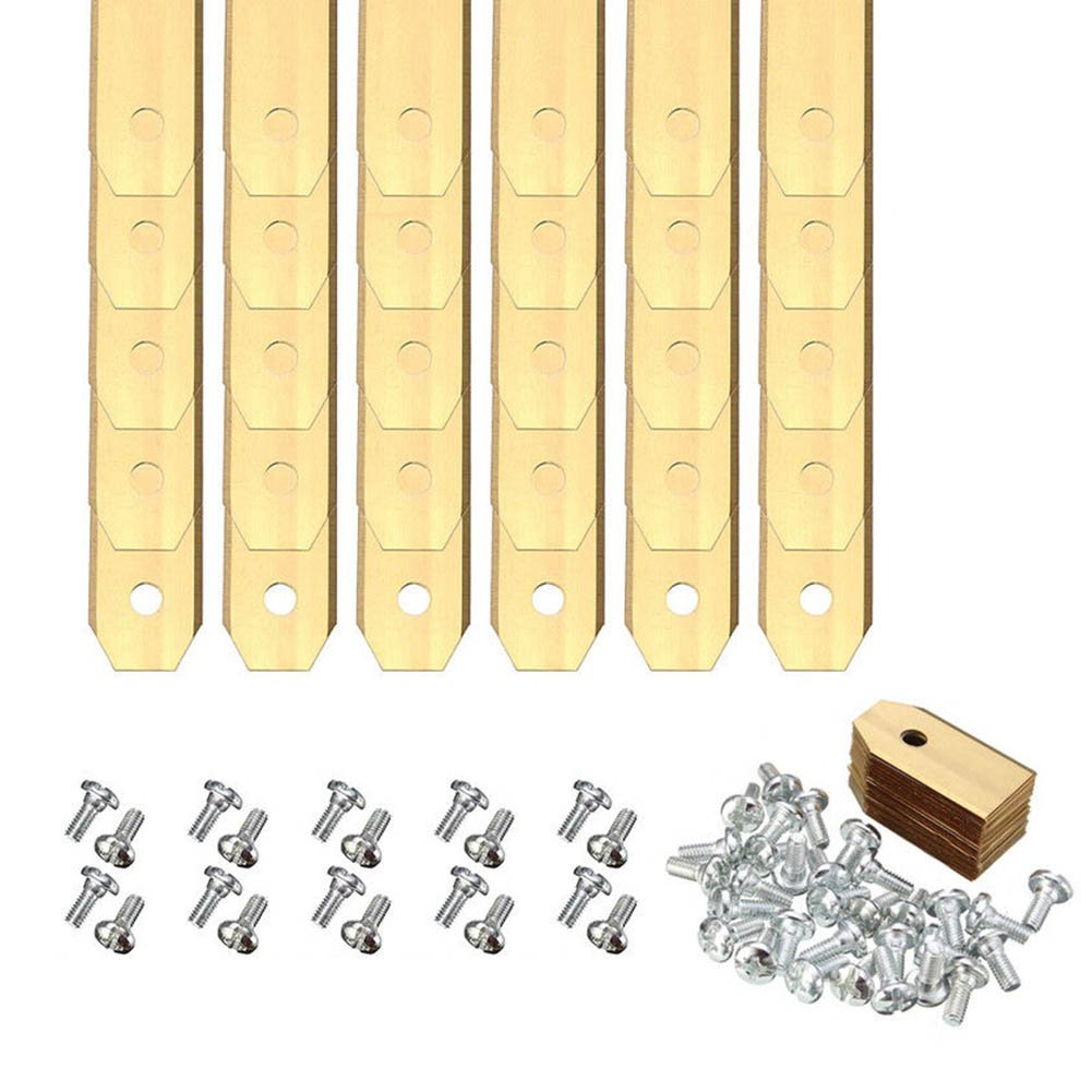 PerGrate 30Pcs Spare Cutter Blades for Husqvarna Automower/Gardena Mowing Robot 0.75mm
