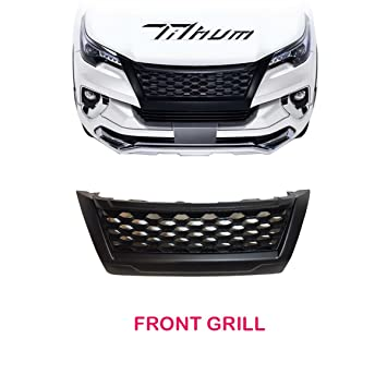 Amazon Com Matte Black Net Front Grill Grille Cover Trim For New
