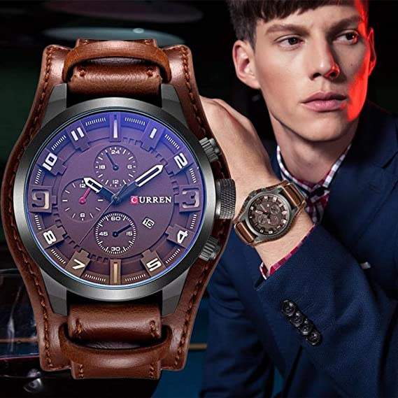 Relógio de luxo, da Curren