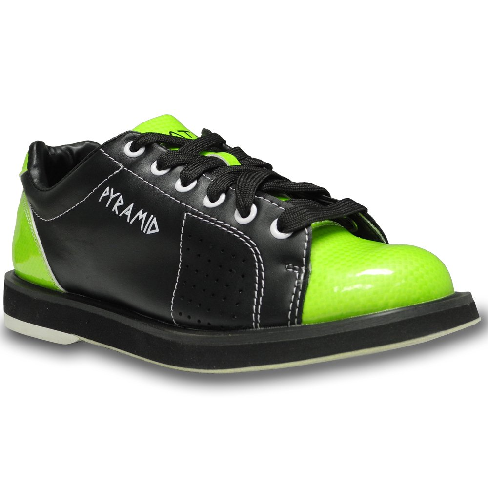 Pyramid Womens Path Bowling Shoes (Black/Lime Green, Size 6.5)