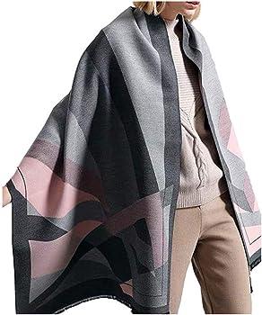 Wultop Winter Warm Mix Colors Long Soft Wrap Women's Scarf