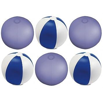 eBuyGB 1315704 aufblasbar Farbe Strand Ball Pool Spiel, blau, 9 Zoll ...