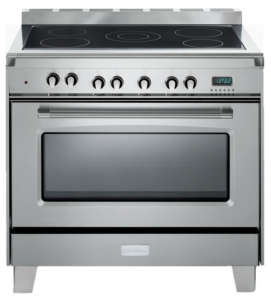 Verona Classic VCLFSEE365SS 36' Pro Electric Range Single Oven Stainless Steel VCLFSEE365SS-Stainless Steel