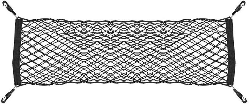 PKW Netz PKW Aufbewahrung LKW Staufl/äche mit 4 Haken Autonetz WoWieAgrarTechnik Kofferraum-Netz Stretch-Netz Bus Zug Netz Kinderwagen 65 x 75 cm Stretch Kofferraumnetz
