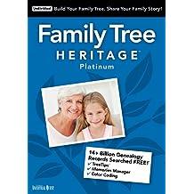 Family Tree Heritage Platinum 15 – Windows [Download]