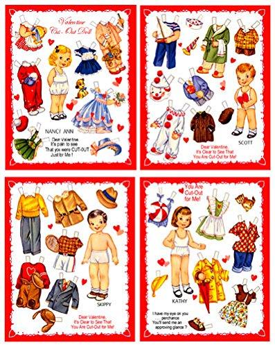 Download Four 1950s Valentine Cards #549 pdf