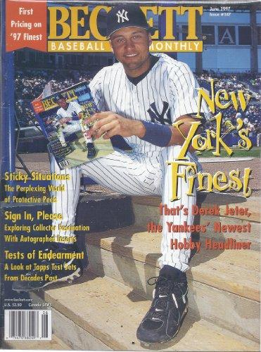 (Beckett Baseball Monthly (June 1997 - Issue 147 - Derek Jeter Cover))
