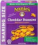 Annie's Cheddar Bunnies, Baked Snack Crackers, 10 oz Box offers