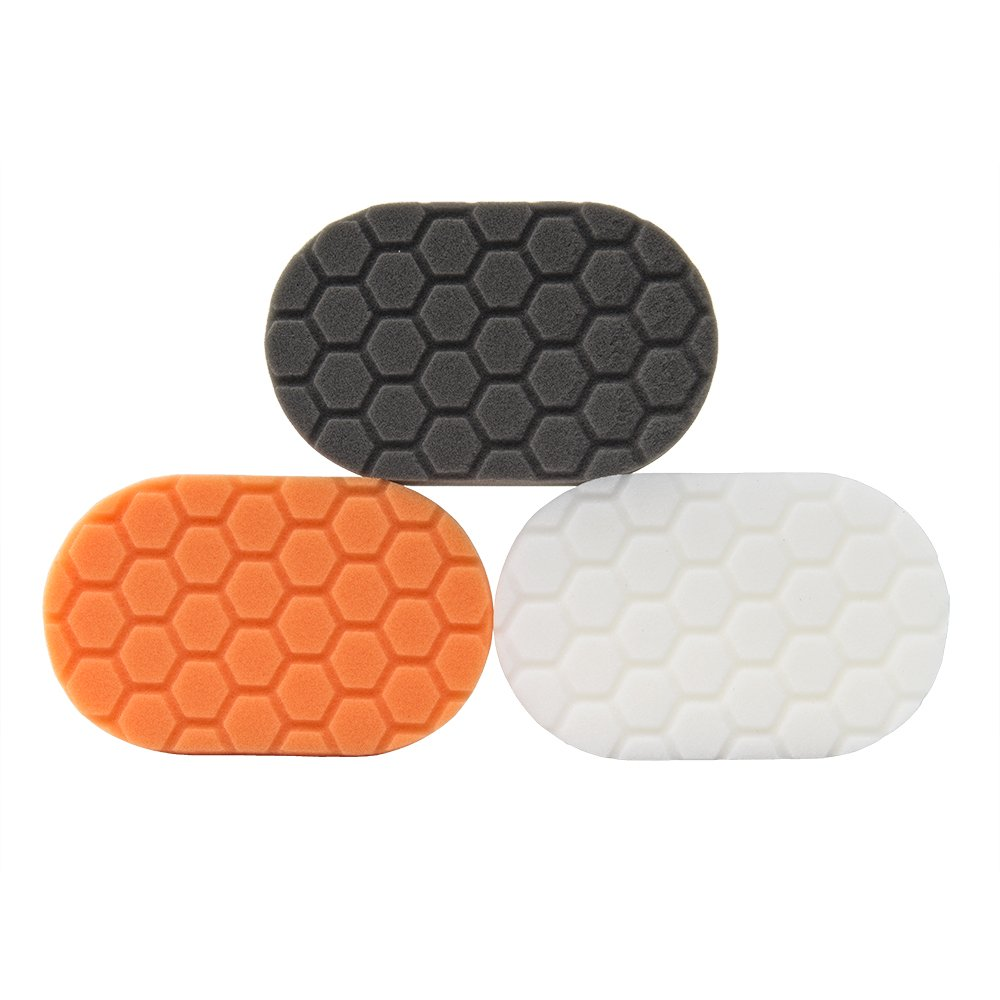 Chemical Guys BUFX_204 Hex-Logic Hand Applicator Pad Kit by Chemical Guys (Image #1)