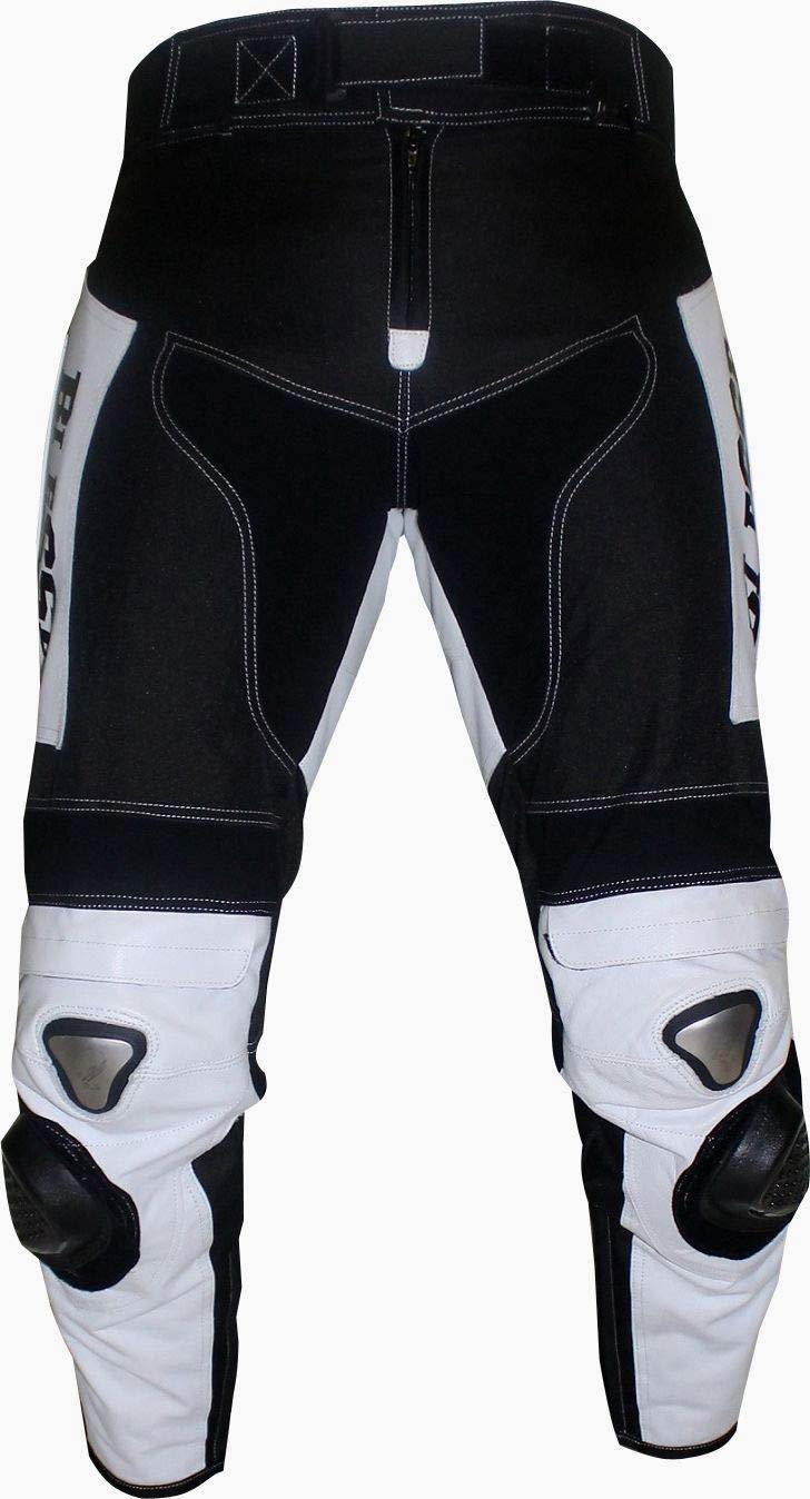 completa di protezioni CE regolabile BIESSE Tuta da MOTO per adulto in pelle e tessuto Taglie XS blu//nero, XL divisibile in 2 pezzi giacca e pantalone colori Nero//Blu 4XL
