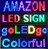 goLEDgo RGB FULL COLOR LED SIGN Splash WaterProof Programmable