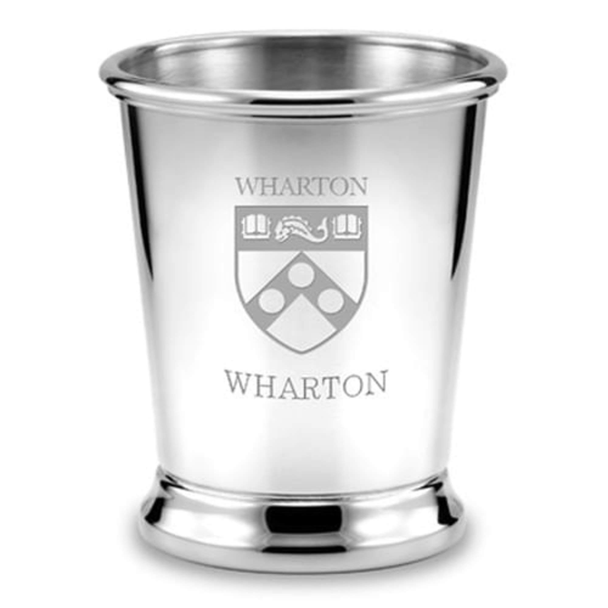 M. LA HART Wharton Pewter Julep Cup