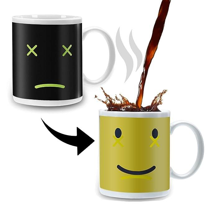 Incutex Color changing mug Tasse mit Thermoeffekt Farbwechsel Tasse Zombie