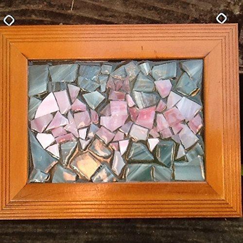 Stained Glass Pink Bat Window Art Sun Catcher