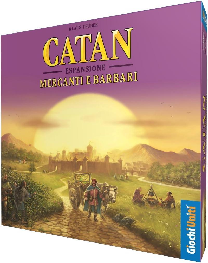 Giochi Uniti Catan Mercanti e Barbari, GU605: Amazon.es: Juguetes y juegos