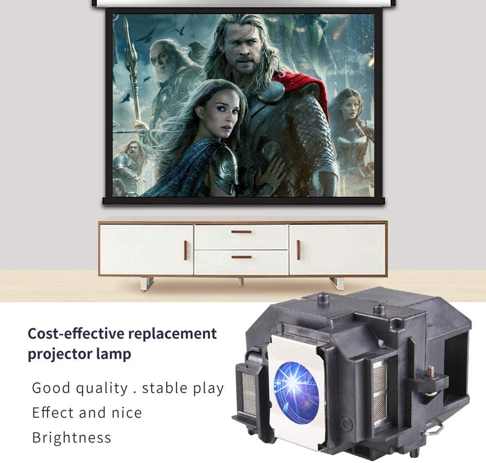 KAIWEIDI ELPLP58/V13H010L58 - Lámpara de Repuesto para proyector ...