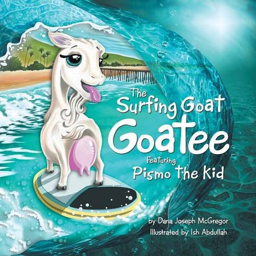 The Surfing Goat Goatee Featuring Pismo the - Pismo Outlets